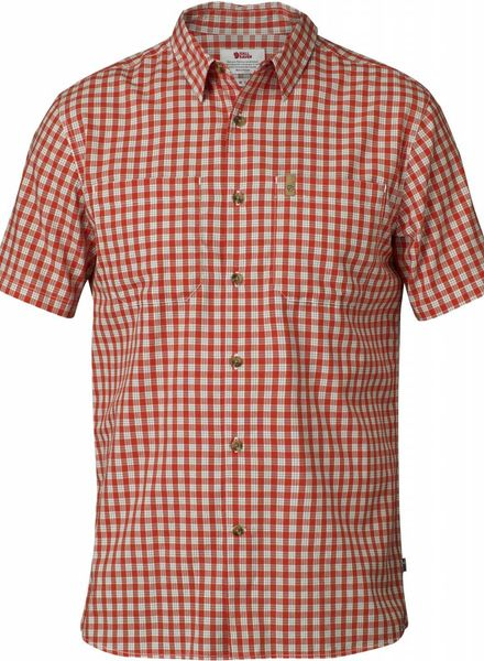 Fjällräven  FJÄLLRÄVEN M's High Coast Shirt SS - Flame Orange