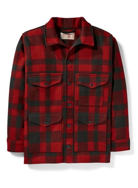 FILSON  FILSON Mackinaw Cruiser - Red / Black Plaid