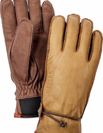 Hestra  HESTRA Wakayama 5 - Finger Unisex - Cork Brown