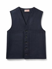 FILSON  FILSON Mackinaw Wool Vest - Navy