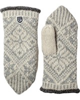Hestra HESTRA Nordic Wool Mitt Fausthandschuh - Grey