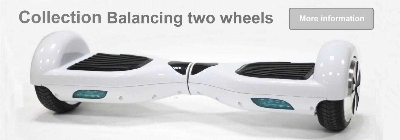 Balancing two wheels