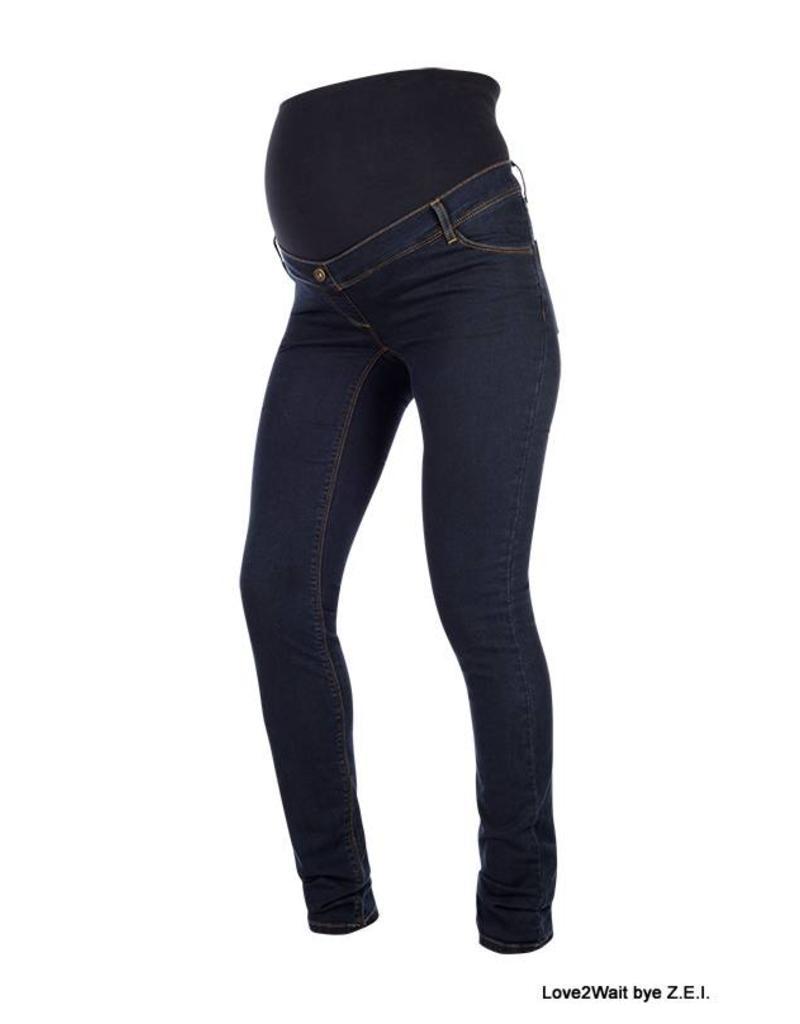 Love2Wait Love2Wait Skinny Jeans Plus Sophia Dark B999019 022