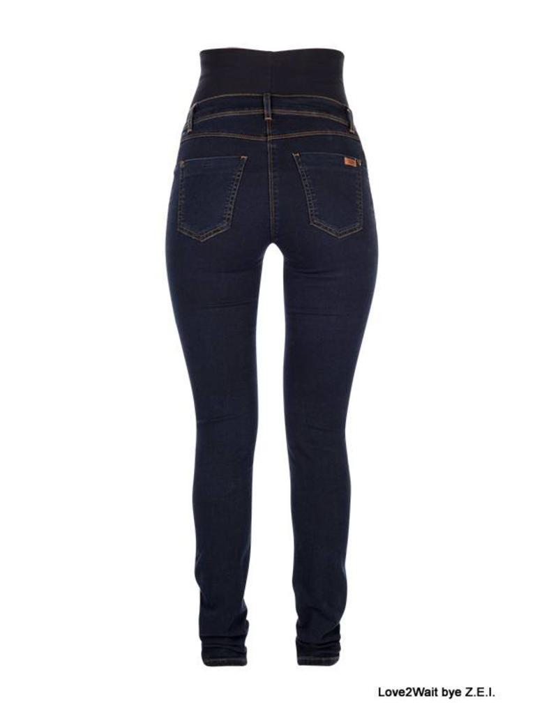 Love2Wait Love2Wait Plus Skinny Jeans Sophia Dark B999019-022+