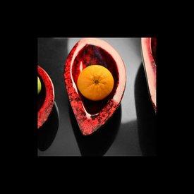 Lack Schale Mangolea 3er Set in Rot