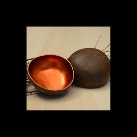 Lack Schale Coco Rund in Orange