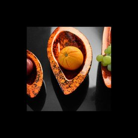 Lack Schale Mangolea 3er Set in Orange