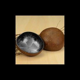 Lack Schale Coco Rund in Explosion Silber