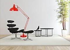 Licht Design mit dekorativen Lampen