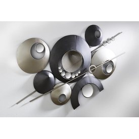 Extravagante und Moderne Wanddeko Design mit Spiegelelementen, 60x105 cm