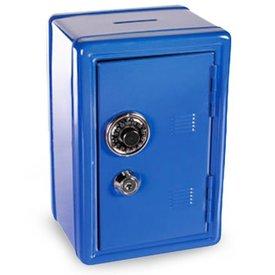 Metall Banktresor,  Blau,