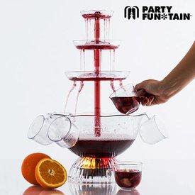 Party Fun Tain Beleuchteter Cocktailbrunnen
