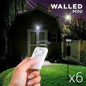 WalLED Mini LED Lampen mit Fernbedienung (6er Pack)