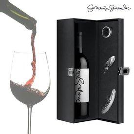 Summum Sommelier Weingeschenkset mit Zubehör (4tlg)
