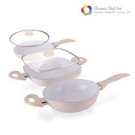 Ceramic Chef Pan Elegance Edition Bratpfannen (5 Teile)