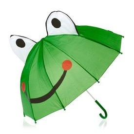 Kinder-Regenschirm,  Frosch,