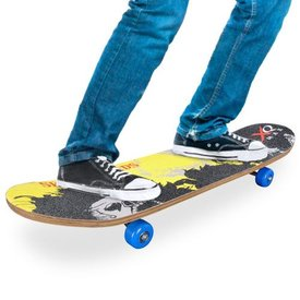 Holz-Skateboard (4 Räder)