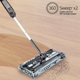 360 Sweep rechteckiger Elektrobesen