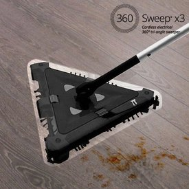 360 Sweep dreieckiger Elektrobesen