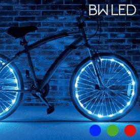 BW LED Lichtschlauch für Fahrräder (2er Pack), Blau,