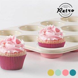 Vintage-Cupcakeform, Rosa,