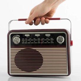 Radio Vintage Metallbox