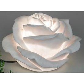 Gartenlampe Rose 35 cm