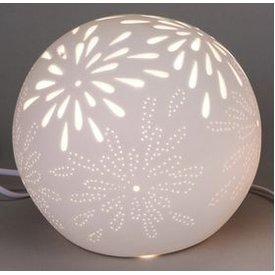 Lampe Kugel Aurea Blume, 21 cm