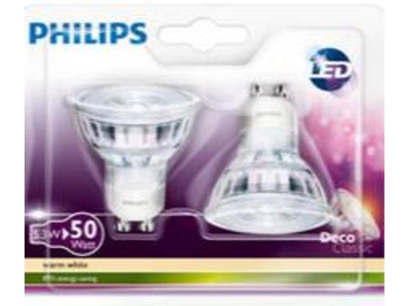 Philips GLASS LED GU10