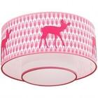 Taftan Plafondlamp Hertje Roze