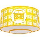 Taftan Plafondlamp Busje Geel