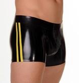 RoB Gummi Full Zip Short mit Gelben Streifen