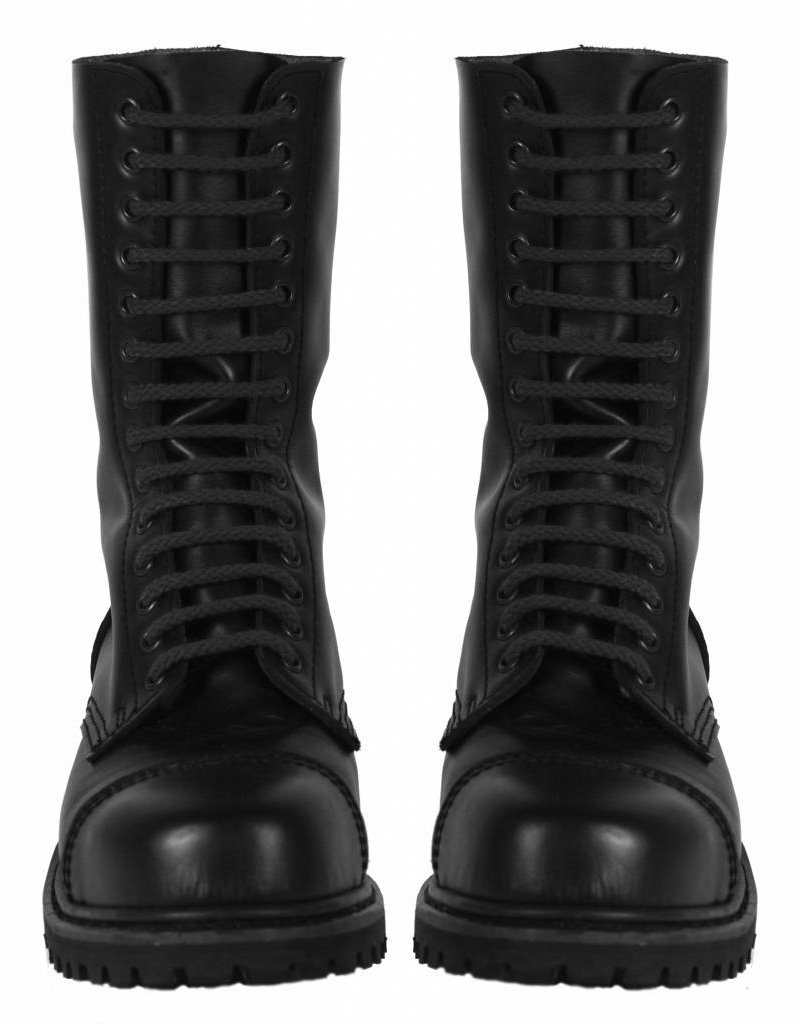 RoB Boot Laces 14-Hole Black