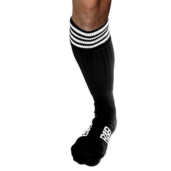 RoB RoB Boot Socks Schwarz mit Weiss