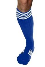RoB RoB Boot Socks Blue with White Stripes