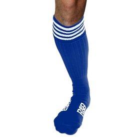 RoB RoB Boot Socks blauw met witte strepen