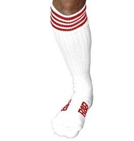 RoB RoB Boot Socks Weiss mit Rot