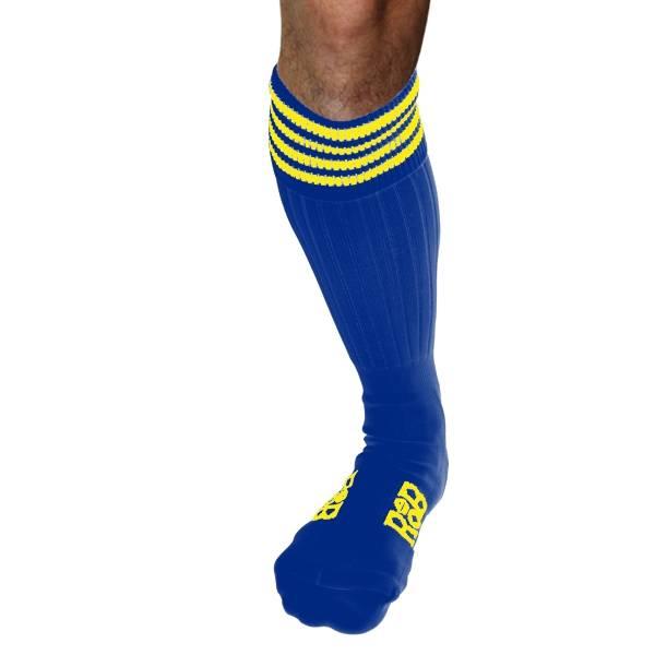 RoB RoB Boot Socks Blau mit Gelb