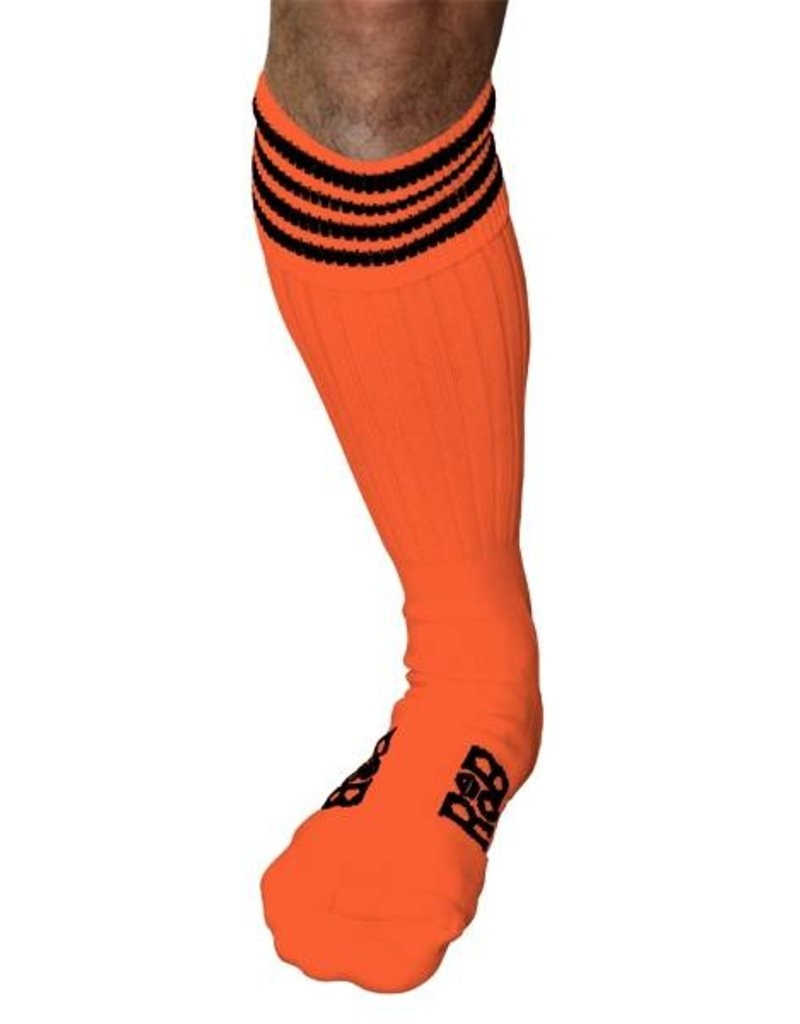 RoB RoB Boot Socks Orange with Black Stripes