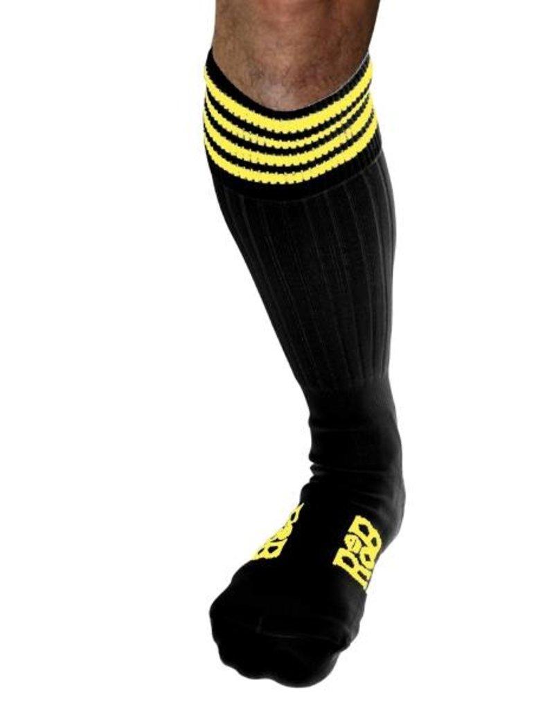 RoB RoB Boot Socks Schwarz mit Gelb