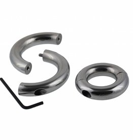 Masters in Steel Split Cockring