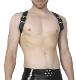 RoB Schulterharness Piping schwarz