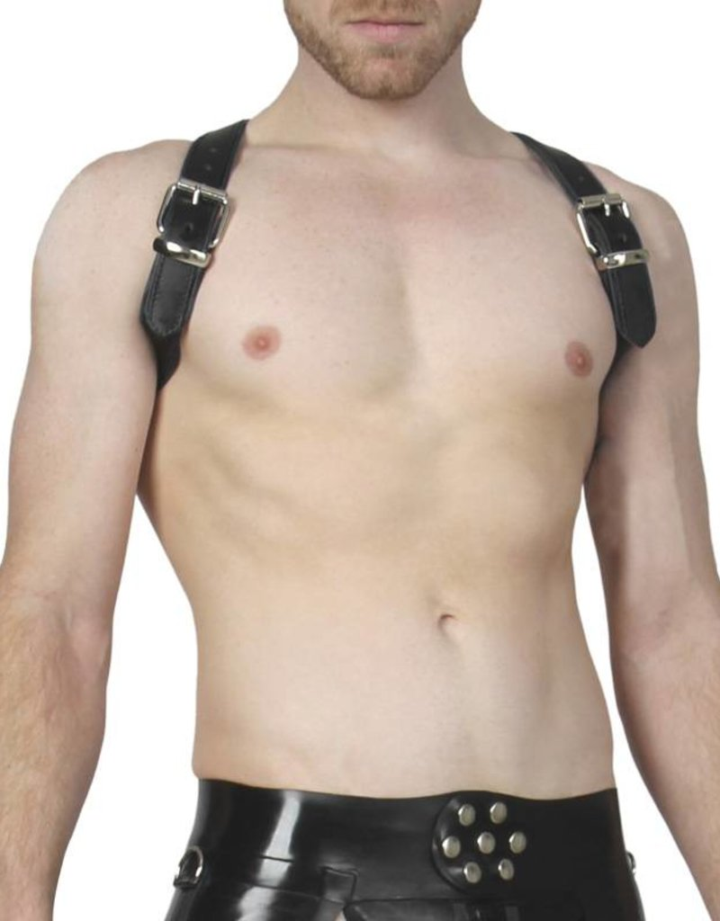 RoB Shoulder Harness Black Piping, buckle