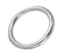 Cockring rond 8 mm
