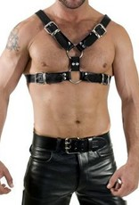 RoB Y-Front Harness black with black piping