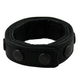 RoB 8-Snap-Cockring Mini Black Studs