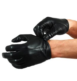 Leder Polizeihandschuhe