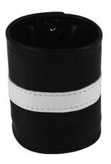 RoB Leather Wrist Wallet White Stripe