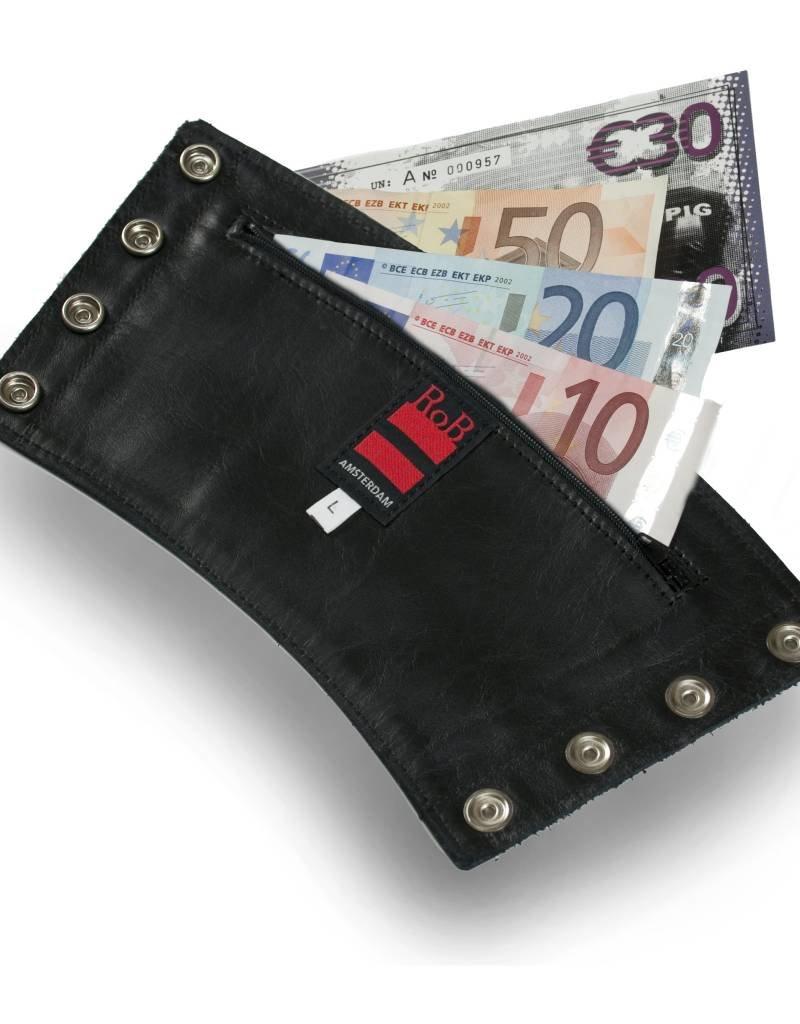 RoB Leather Gauntlet Wrist Wallet