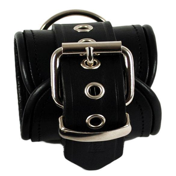 RoB Leather Ankle Restraints Black